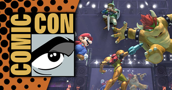 Nintendo's Comic-Con Plans Include 'Smash Bros. 3DS' Tournament