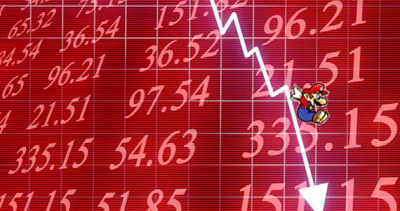 Nintendo Stock Prices and Profits Fall