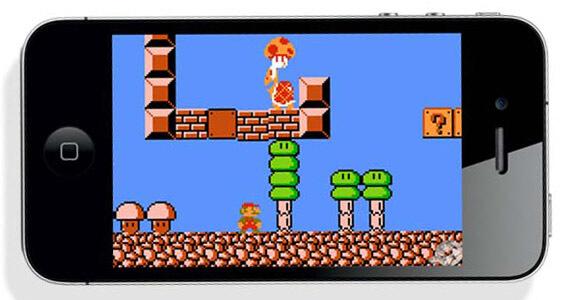 Nintendo Super Mario on Smart Phones