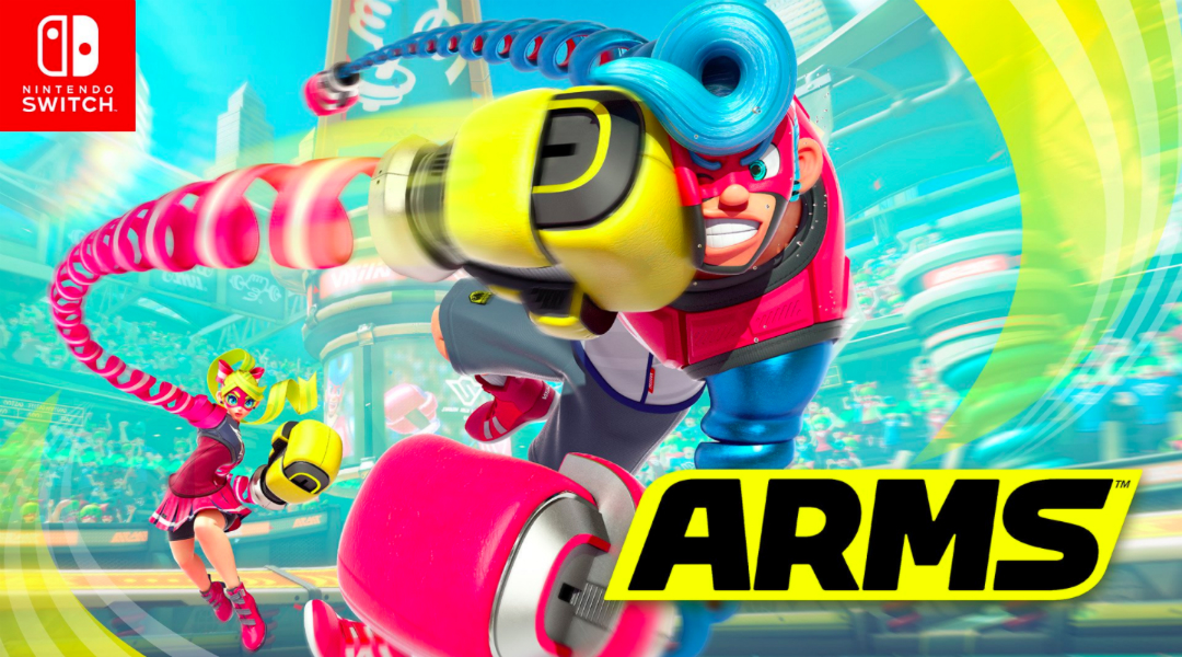 Nintendo Switch Fighting Game ARMS Gets 2 New Trailers