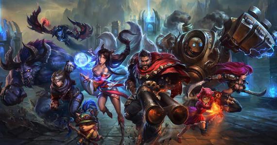 No League of Legends 2 Header Image