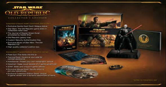 Star Wars The Old Republic Collector's Edition