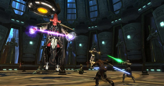Old Republic Review Flashpoint Group Combat Star Wars BioWare