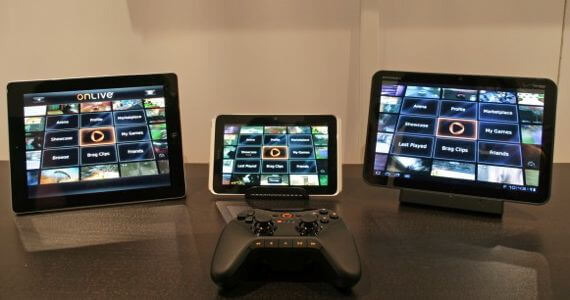 OnLive iPad Android Tablet Portable Gaming PC Mac