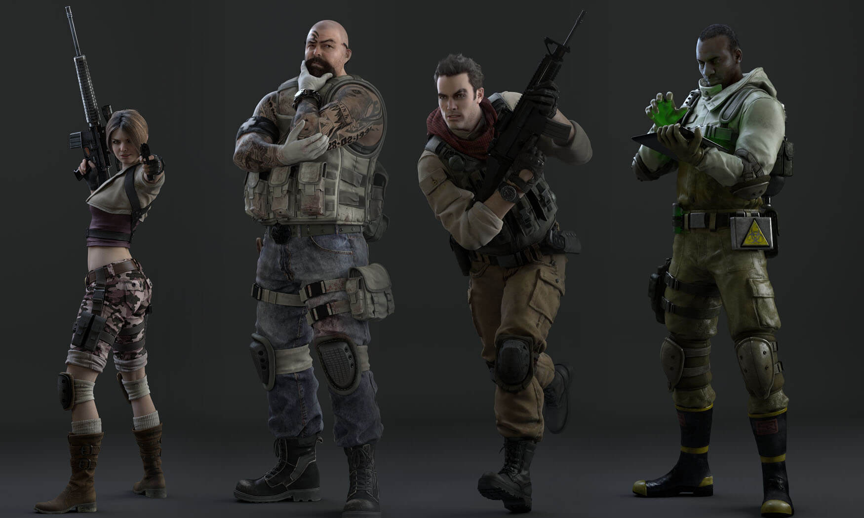 'Resident Evil: Operation Raccoon City' Multiplayer Modes Revealed