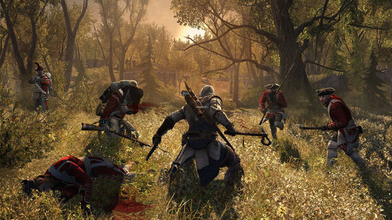 two handed tomahawk melee in assassins creed 3