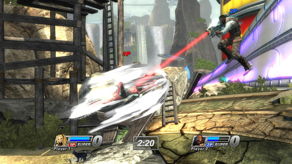 'PlayStation All-Stars' Screenshots Display New Characters and Level