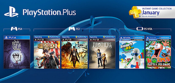 PS Plus Free Games January