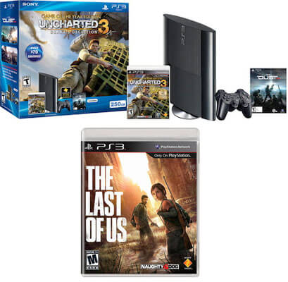 PS3 Bundle Uncharted 3 The Last of Us Contest Giveaway