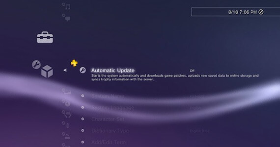 PS4 Automatic Updates Free