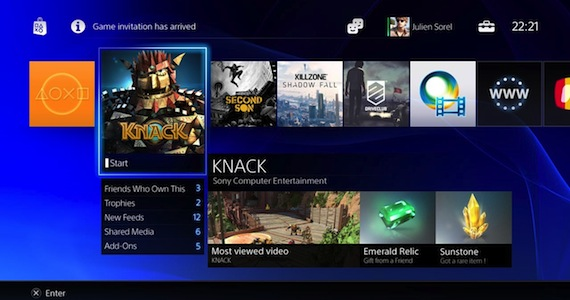 PS4 Digital Library