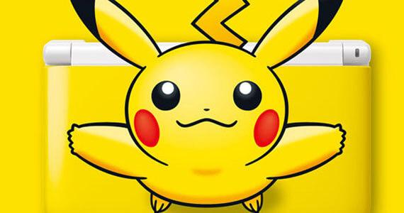 Get a Peek at the Pikachu Nintendo 3DS XL