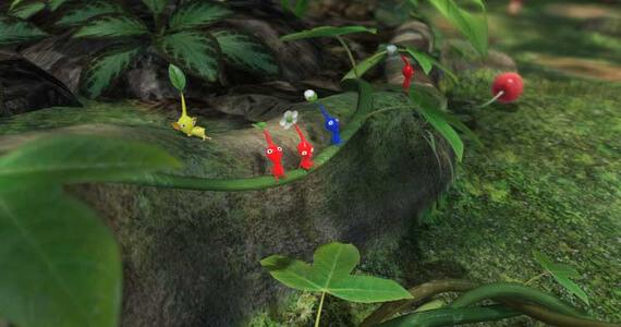 Pikmin 3 Near Wii U Launch