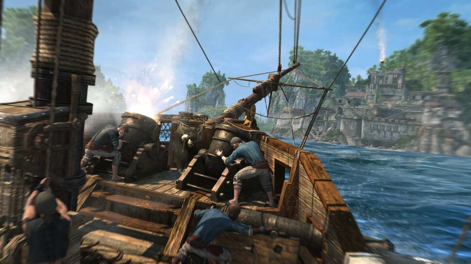 Assassin's Creed 4 (Fort Combat)
