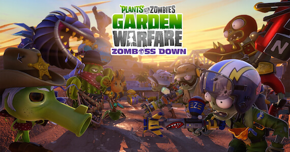 'PvZ: Garden Warfare' 'Zomboss' DLC