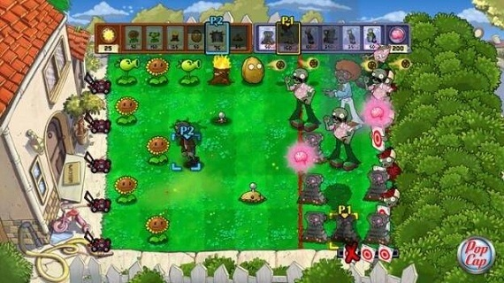 Plants vs. Zombies Xbox 360 Gameplay