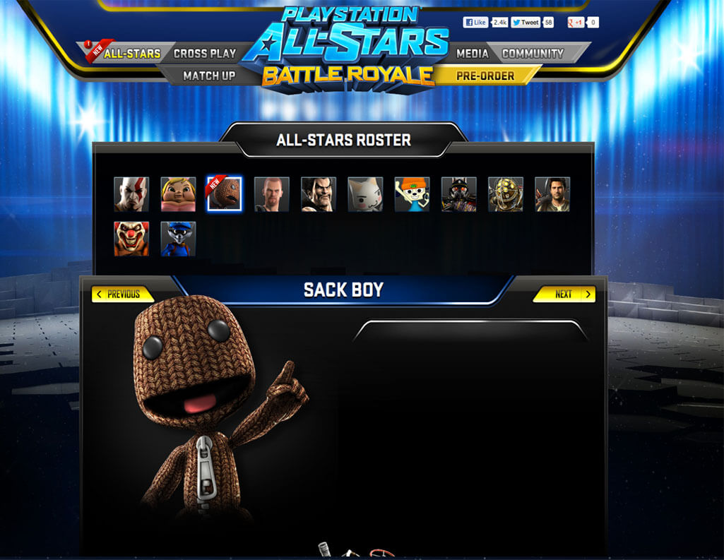 'PlayStation All-Stars Battle Royale' Characters Leaked