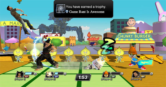 PlayStation All-Stars Battle Royale Trophies
