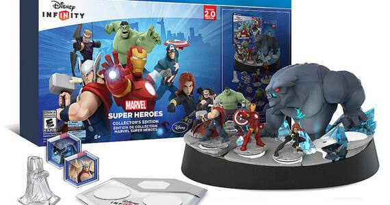 PlayStation Exclusive 'Disney Infinity 2.0: Marvel Superheroes' Collector's Edition Details Revealed