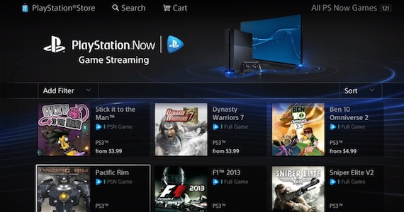 PlayStation Now Selection