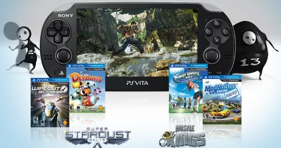 PlayStation Vita North American Launch Games and Accessories
