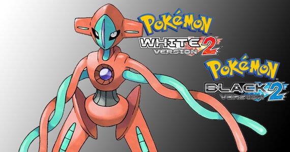 Download Deoxys in Pokemon Black 2 & White 2
