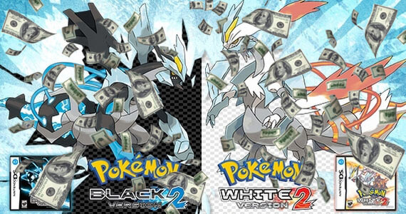 'Pokemon Black 2' and 'White 2' Sell 1.6 Million Units in Japan