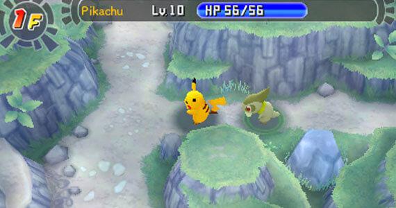 Pokemon Mystery Dungeon Gates to Infinity Screenshots