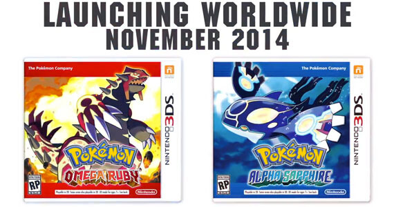 'Pokemon Omega Ruby' and 'Alpha Sapphire' Announced for 3DS