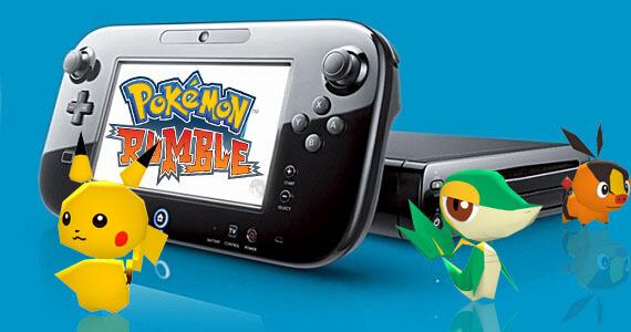 Pokemon Scramble Wii U