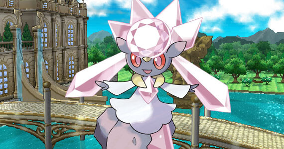 Diancie Revealed as the Newest Pokemon