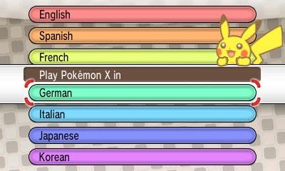 Pokemon X Y Screenshots