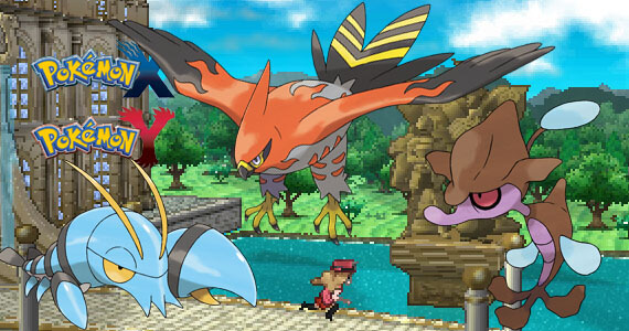 Nintendo Releases a Ton of New 'Pokemon X' & 'Y' Details