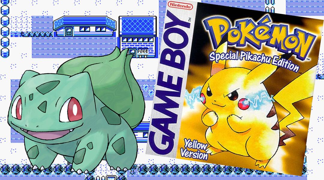 how to start pokemon yellow