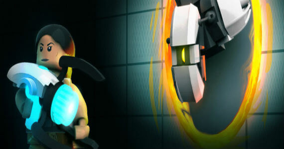 The 'Portal 2′ Legos Are Not a Lie