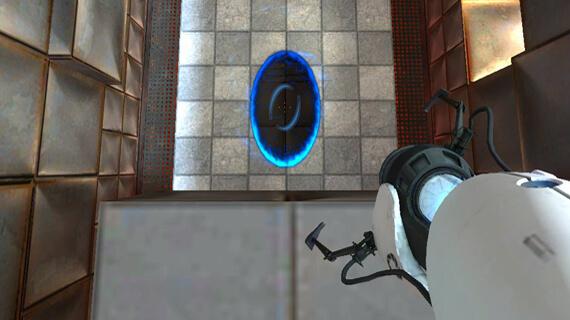 Portal 2 Momentum Ride
