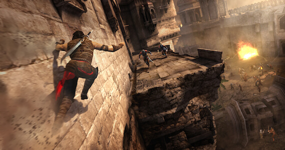 Next 'Prince of Persia' Returns to 2D Side-Scrolling Roots?