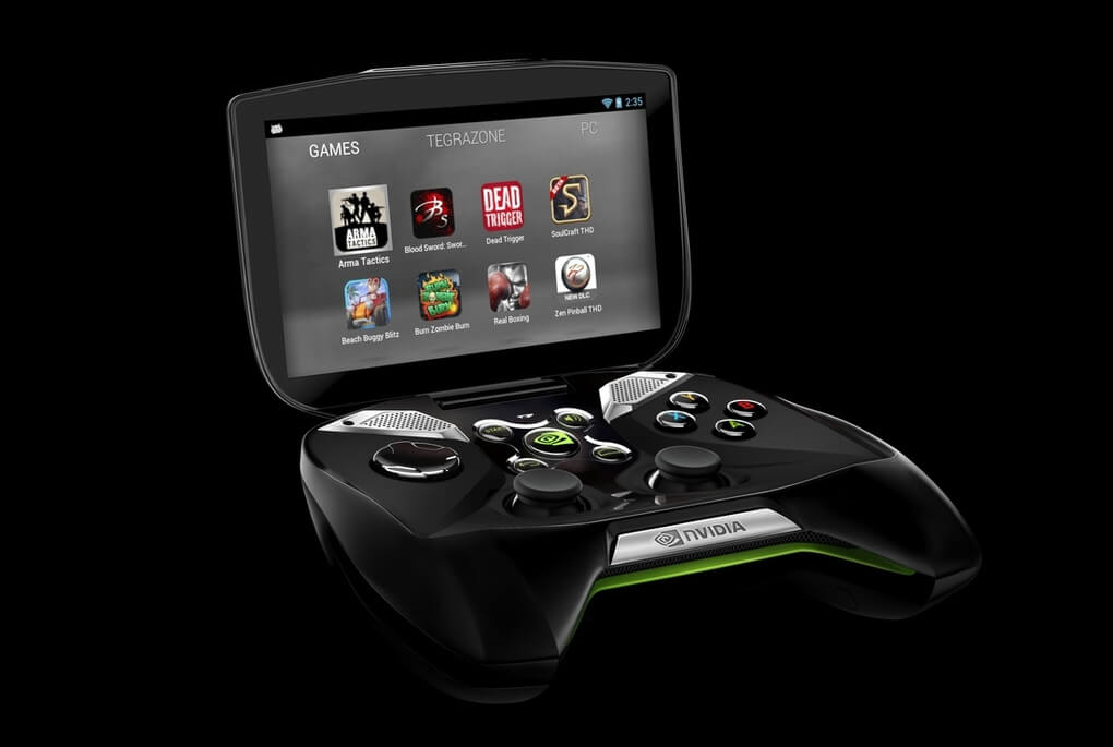 Nvidia Enters Next-Gen Fray With 'Project Shield' Mobile Gaming Console