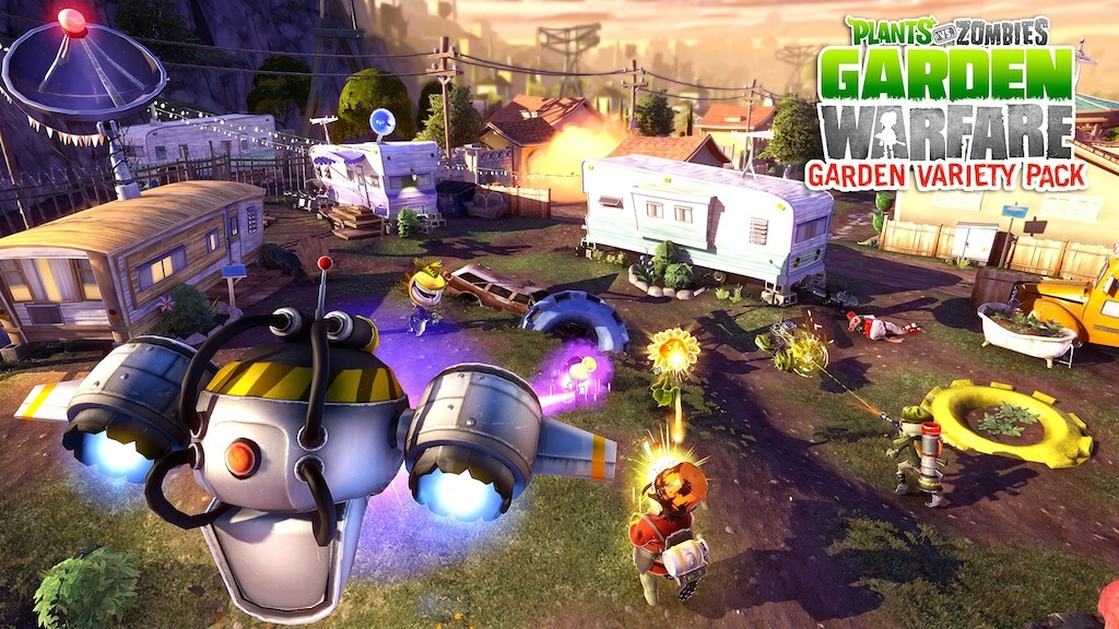 'Plants vs. Zombies: Garden Warfare' DLC Adds New Map, Mode, & Ability Upgrades