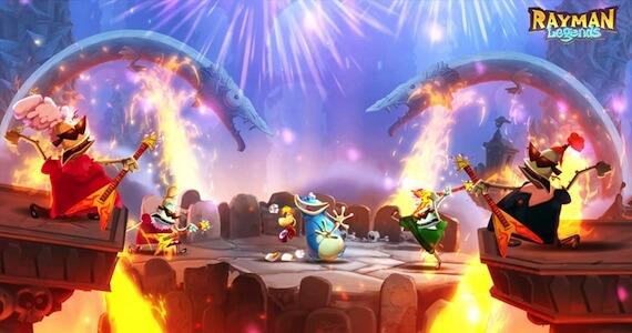 Rayman Legends - Dancing