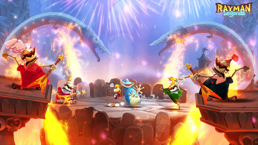 'Rayman Origins' & 'Sonic & All-Stars Racing Transformed' Demos Hit Wii U eShop