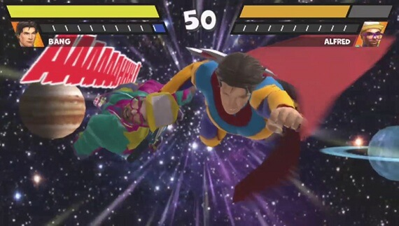 Reality Fighters Bang's Special Move