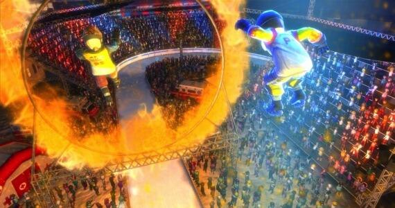 Red Bull Crashed Ice Kinect Stunts