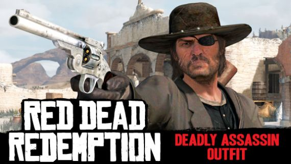 Red Dead Redemption Deadly Assassin Outfit