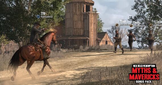 'Red Dead Redemption' Screenshots Show Off 'Myths & Mavericks'