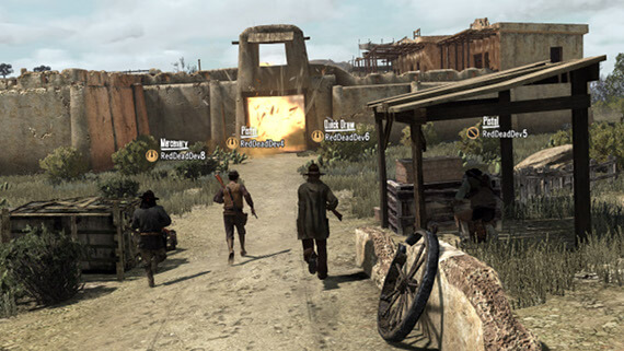 Red Dead Redemption - Gang Hideout