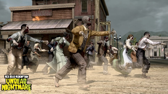 Red Dead Redemption Undead Nightmare Zombie Chase