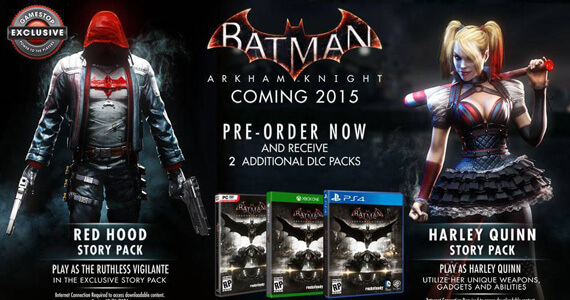 Red Hood DLC for Batman: Arkham Knight