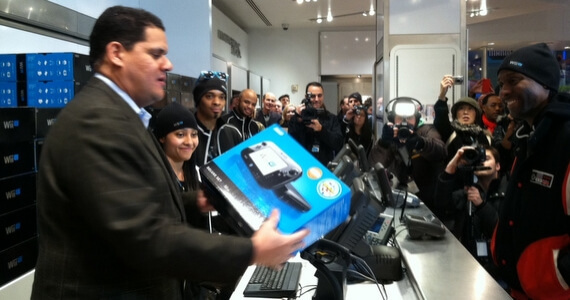 Reggie At Wii U Launch