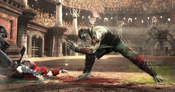 Reptile Mortal Kombat 9 Fatality